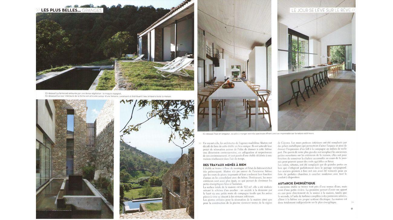 Les Plus Belles Maisons France Dicember 2012 3