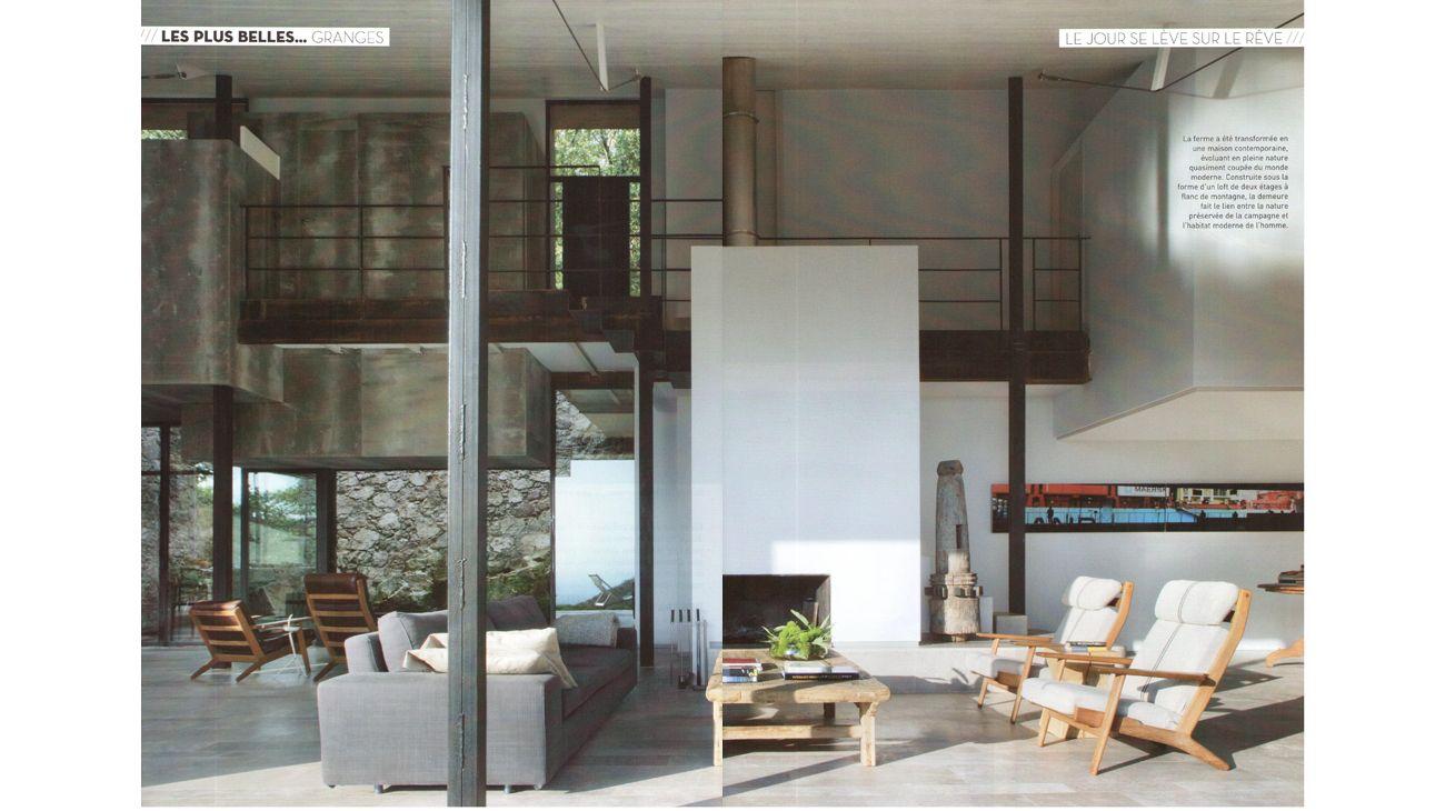 Les Plus Belles Maisons France Dicember 2012 4