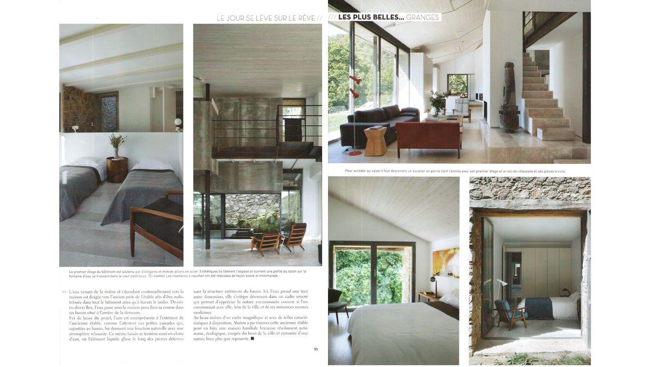 Les Plus Belles Maisons France Dicember 2012 5
