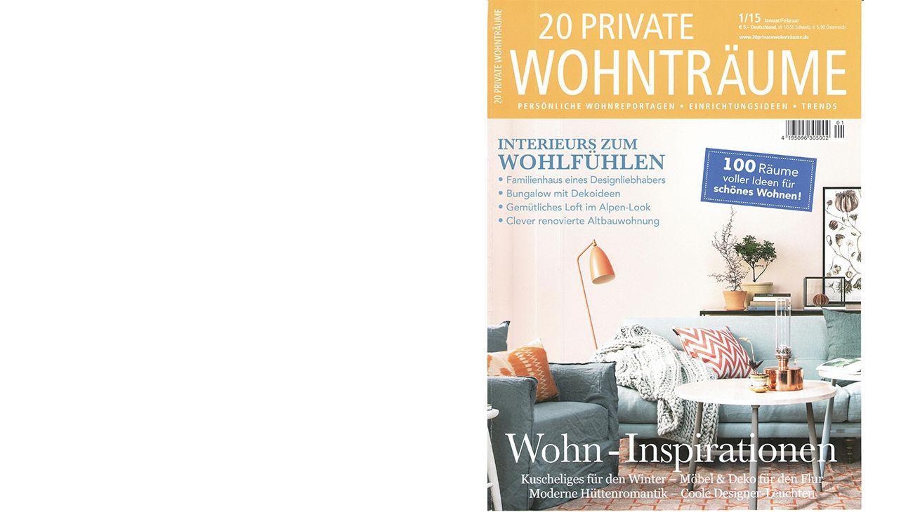 20 PRIVATE WOHNTRäUME (GERMNAY) JANUARY/FEBRUARY 2015 0