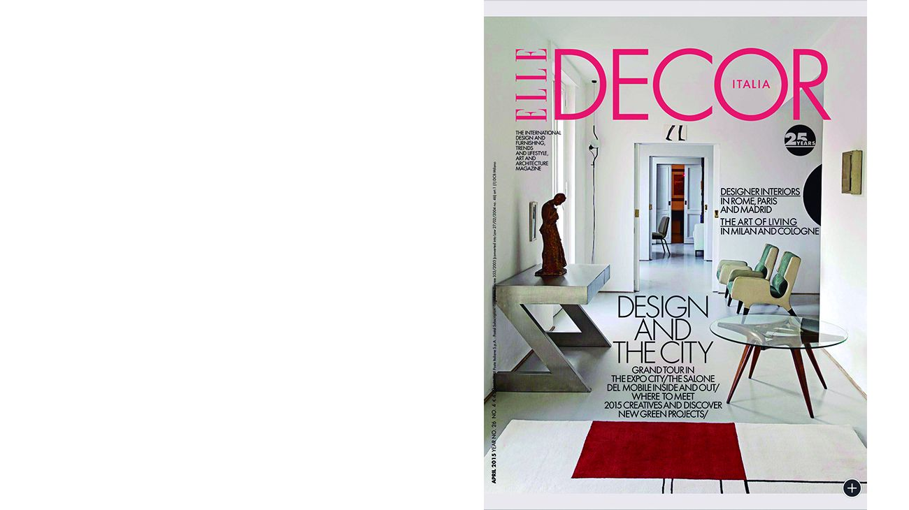 ELLE DECOR (ITALIA). ABRIL 2015 0