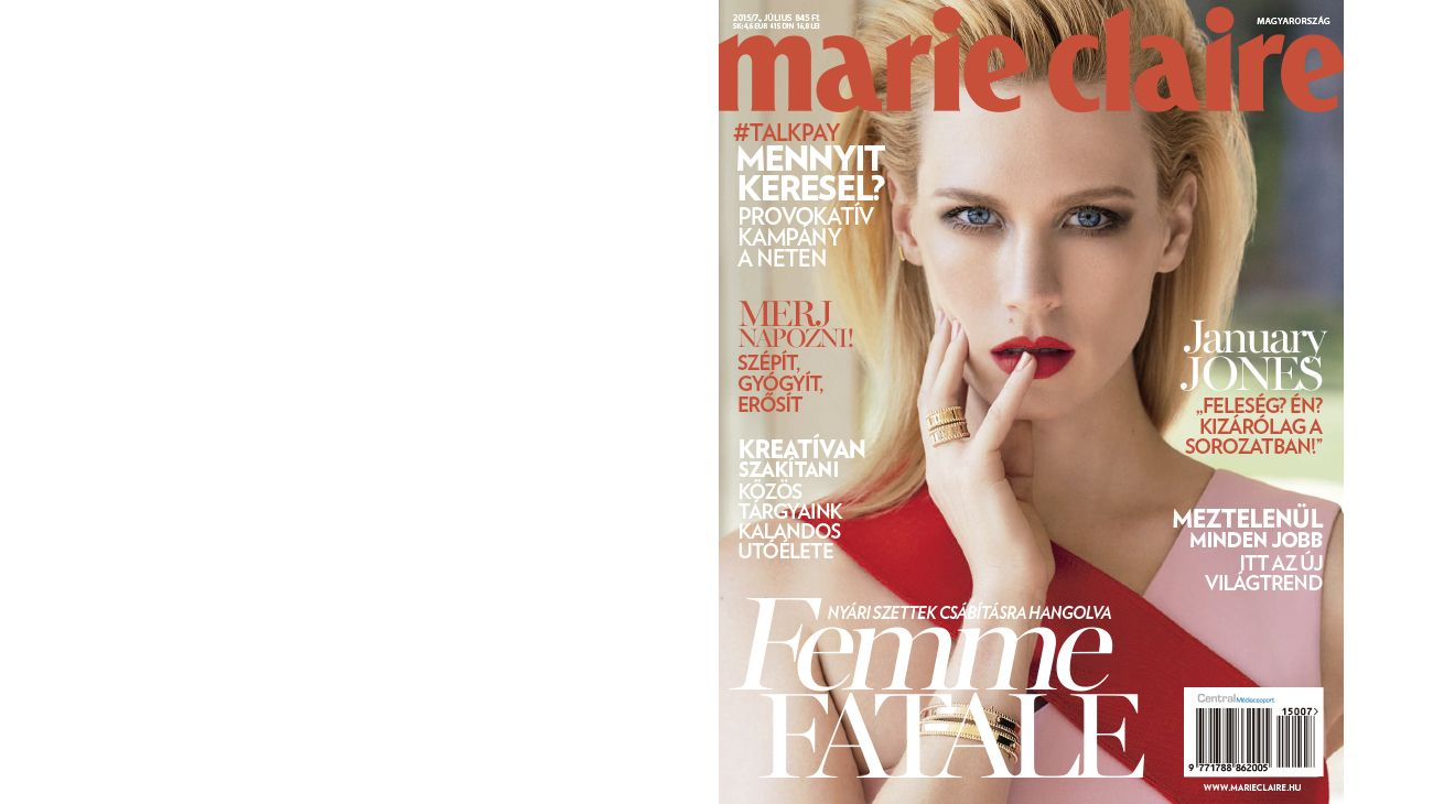 MARIE CLAIRE (HUNGARY) JULY 2015 0