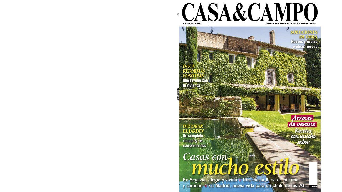 CASA Y CAMPO (ESPAÑA). JULIO 2015 0