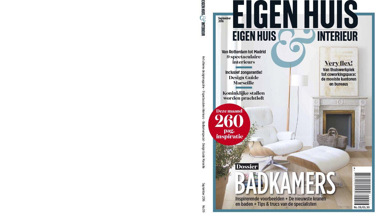 EIGEN HUIS (BÉLGIUM). SEPTEMBER 2016 0