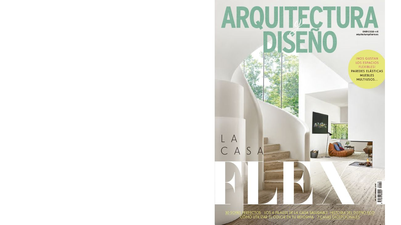 ARQUITECTURA Y DISEÑO (SPAIN). JANUARY 2019 0