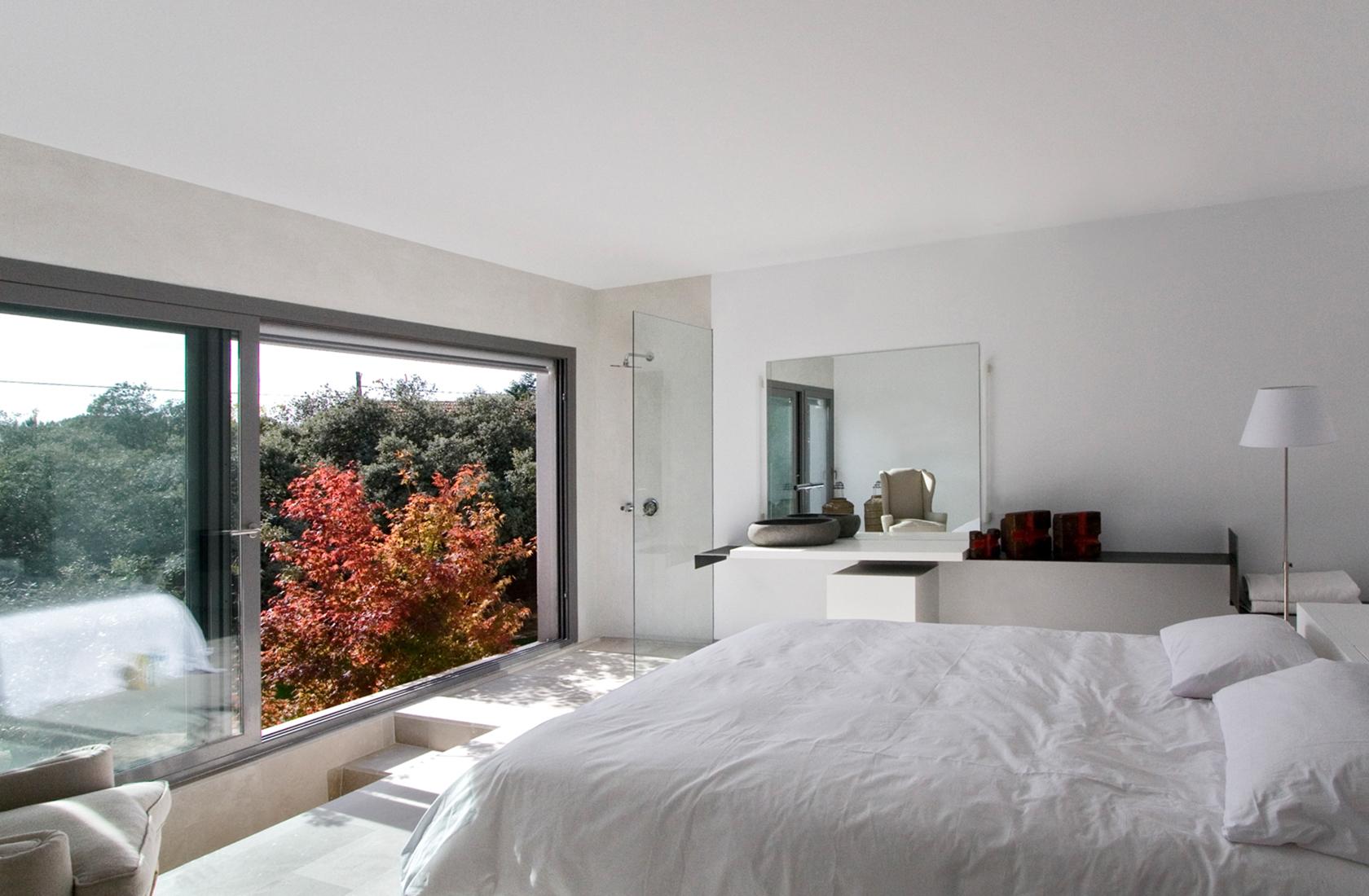 Casa mar de encinas dormitorio