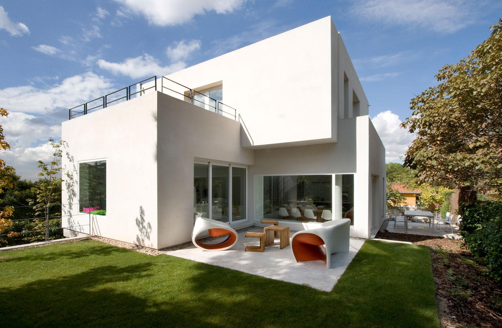 Vista general del proyecto Casa Cambrils realizado por ÁBATON Arquitectura