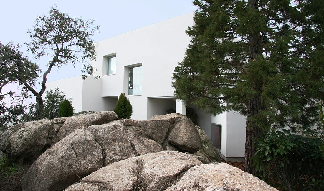 Proyecto de arquitectura promocion los robles