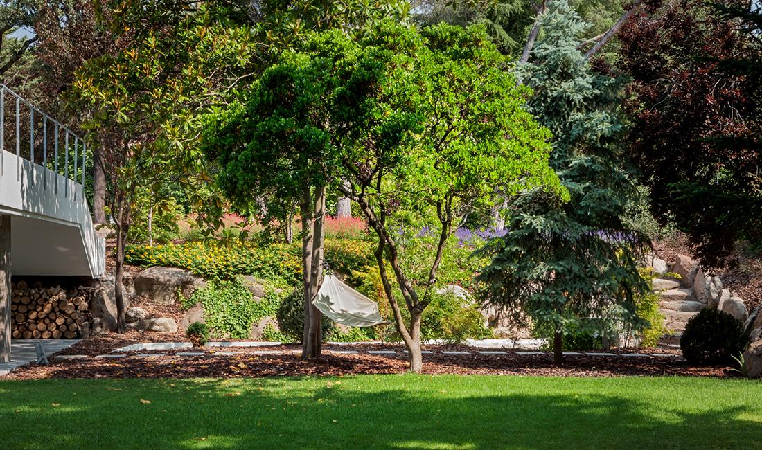 Proyecto de paisajismo jardin la moraleja