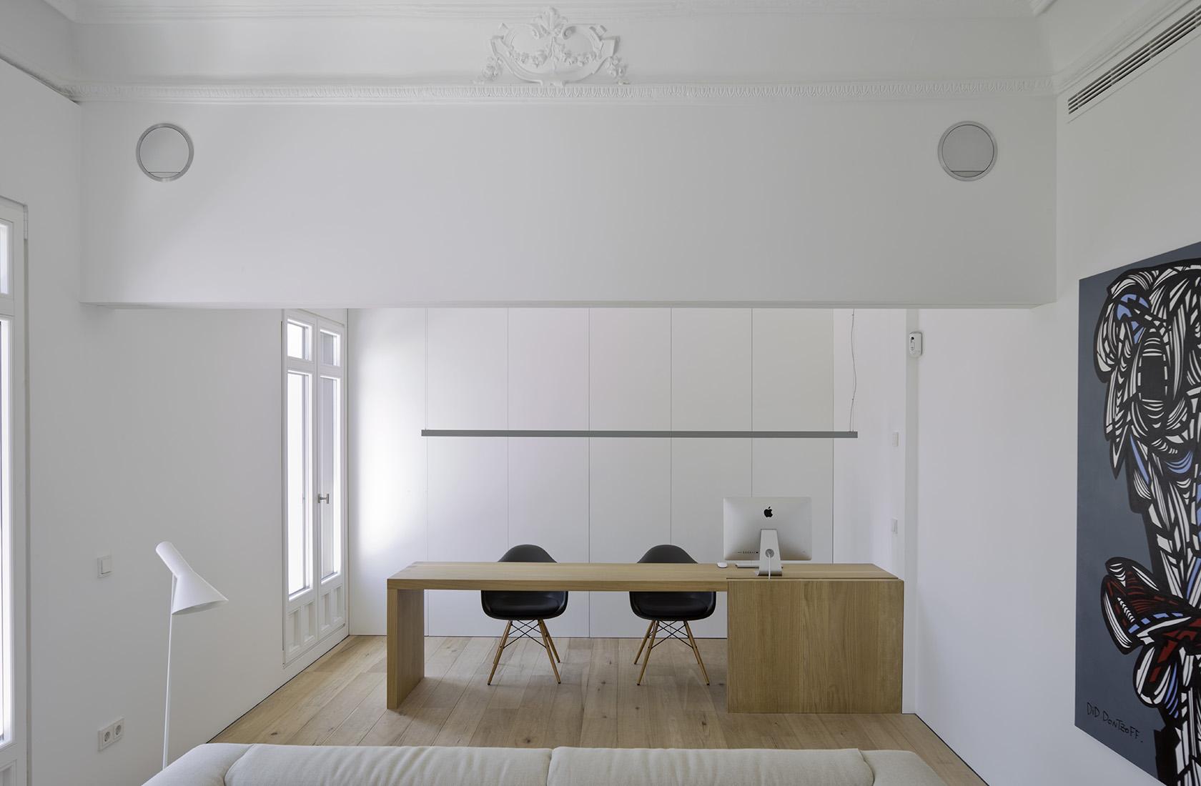 sala de estar de la reforma integral en alcalá