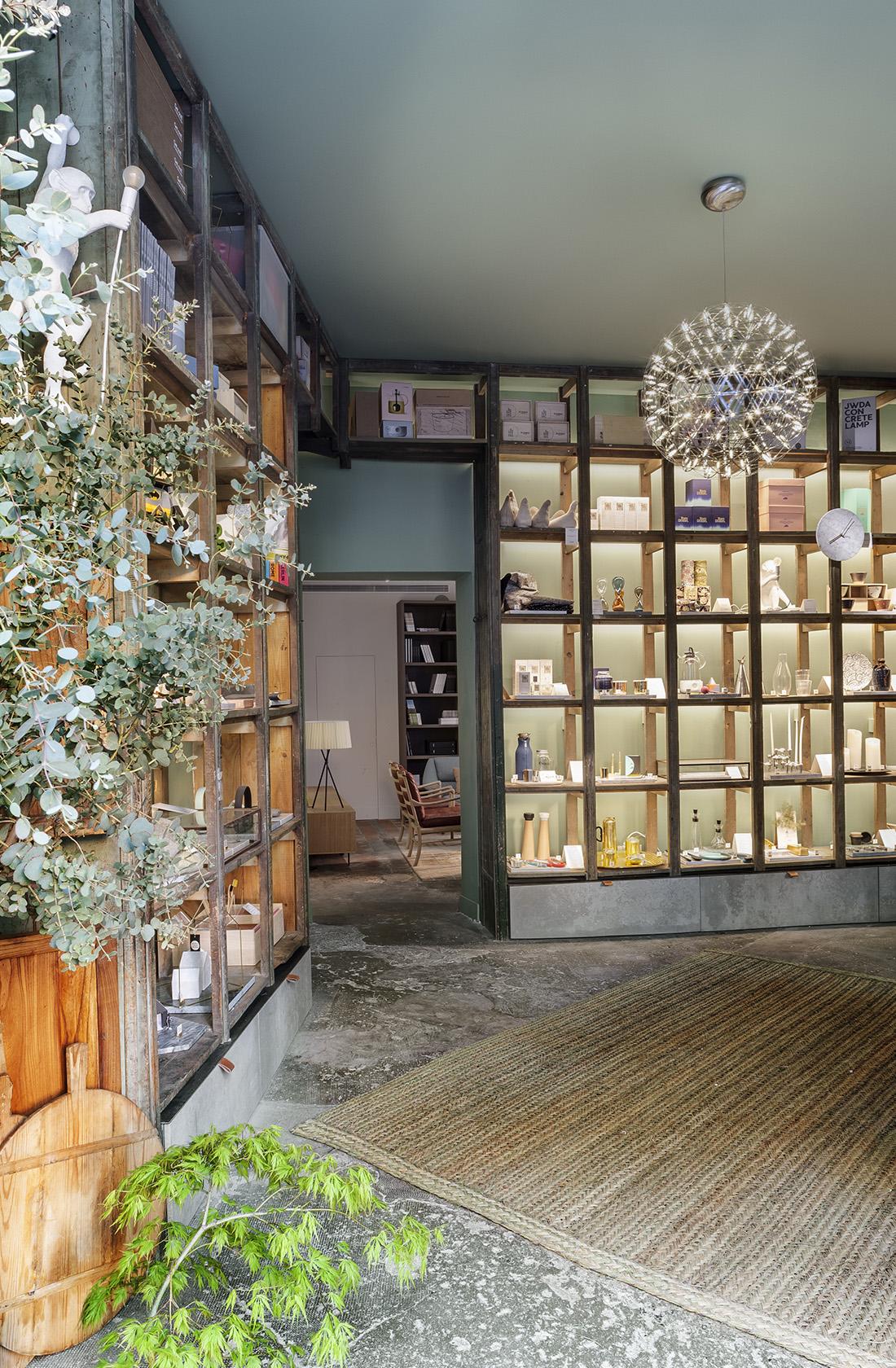 Vista general de la Sección de Objetos de Deseo de la tienda BATAVIA