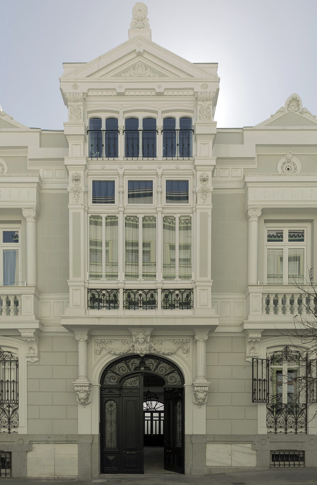 Fachada principal Clínica Dental Atelier González-Solano