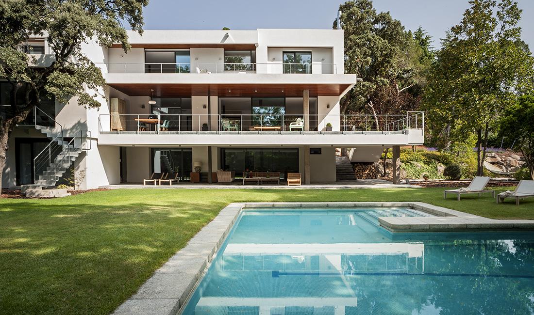 Proyecto de arquitectura reforma vivienda moraleja