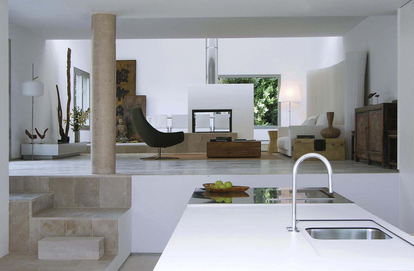 Casa c 25 cocina salon