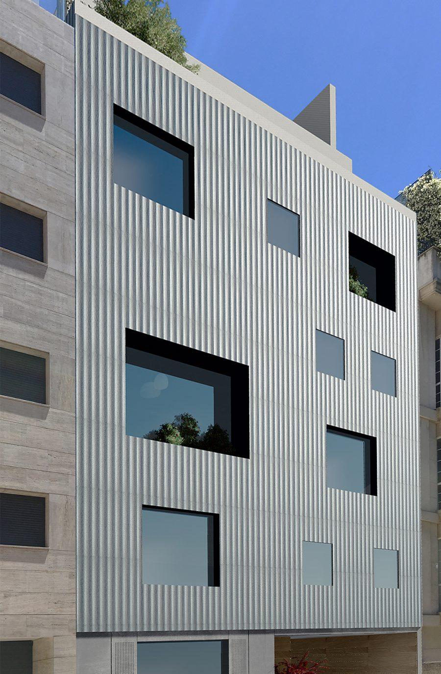 Antonio rodriguez villa 8 render fachada