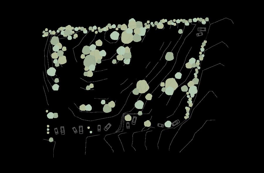 Promocion los penascales plano topografico