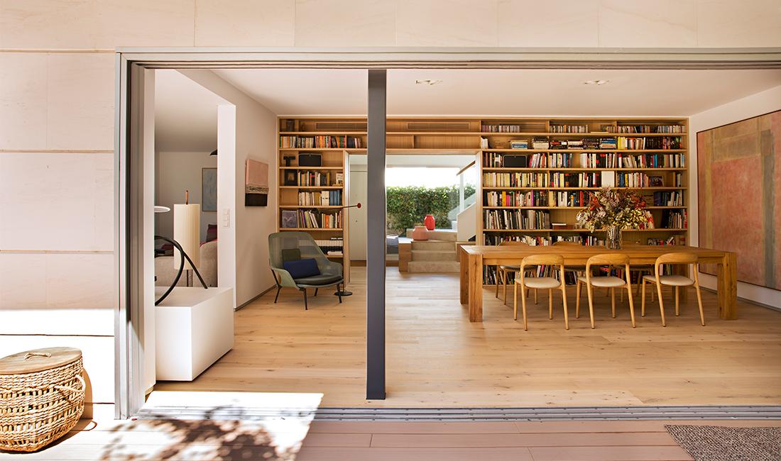 Proyecto arquitectura reforma vivienda adosada moraleja