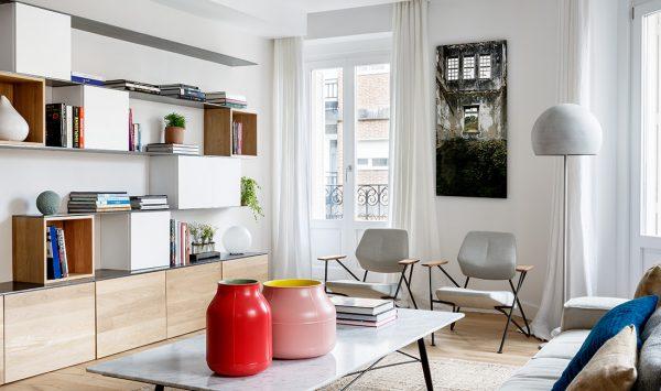 Proyecto de arquitectura reforma integral duplex serrano casa ayala ii