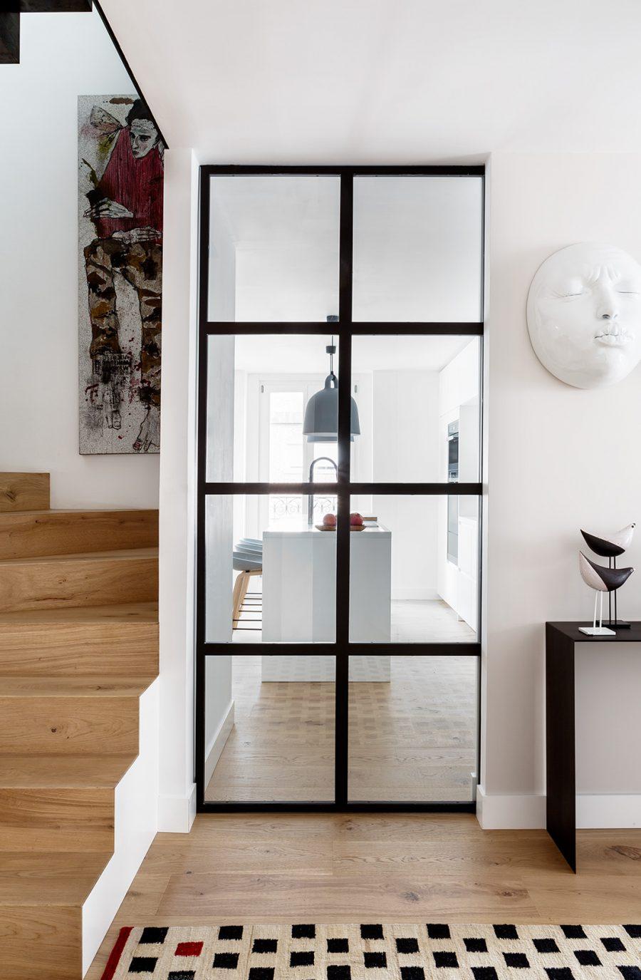 Reforma integral duplex serrano casa ayala ii entrada cocina 02