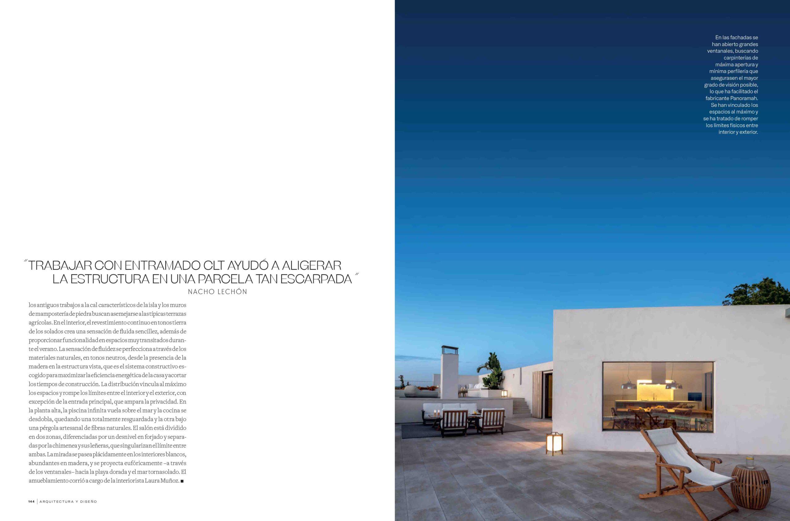 ARQUITECTURA Y DISEÑO (ESPAÑA). JULIO/AGOSTO 2020 7