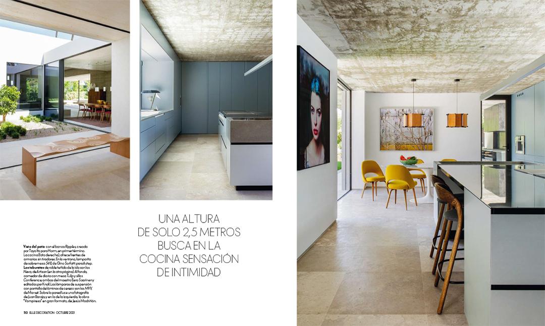 ELLE DECORATION (ESPAÑA). SEPTIEMBRE 2021 6